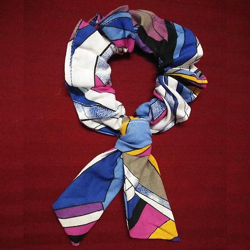 Multicolor funky Scrunchie