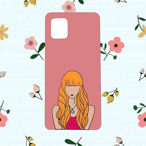 The popular girl mobile back case