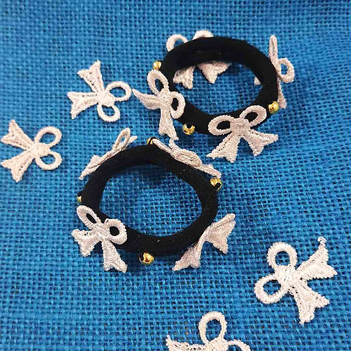 Bow delight hairties