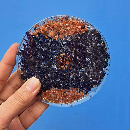 Double B resin coaster
