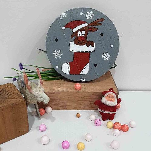 Peek-a-Reindeer coaster