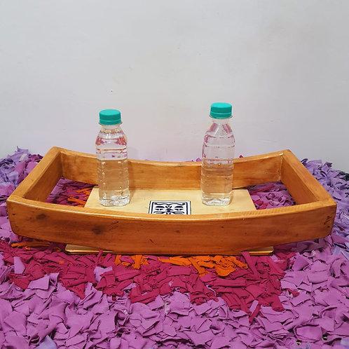 Designer wooden tray