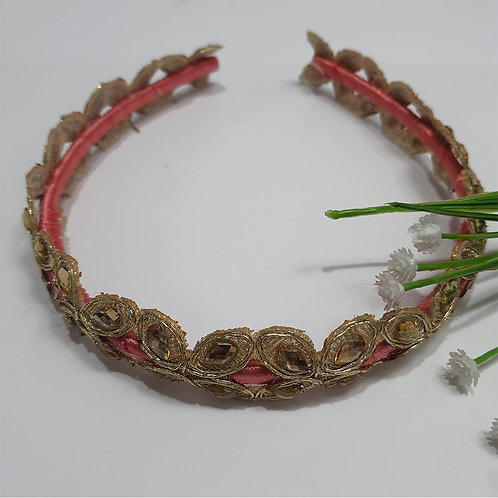 Gold magic traditional hairband
