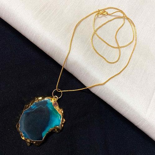 The Lido Agate stone neckwear