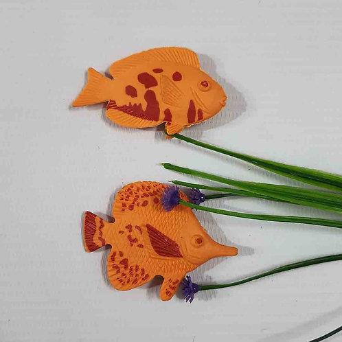 Fishy Duo fridge magnet