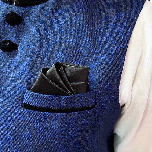 Designer rose pocket square