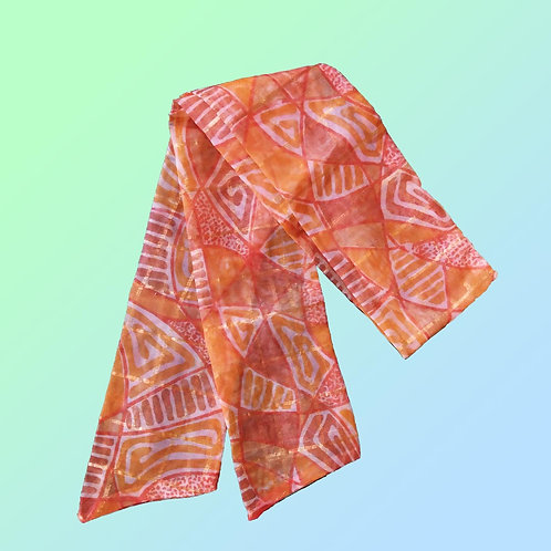 Orange net Bandana