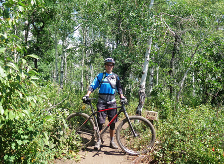 Riding Steamboat Springs