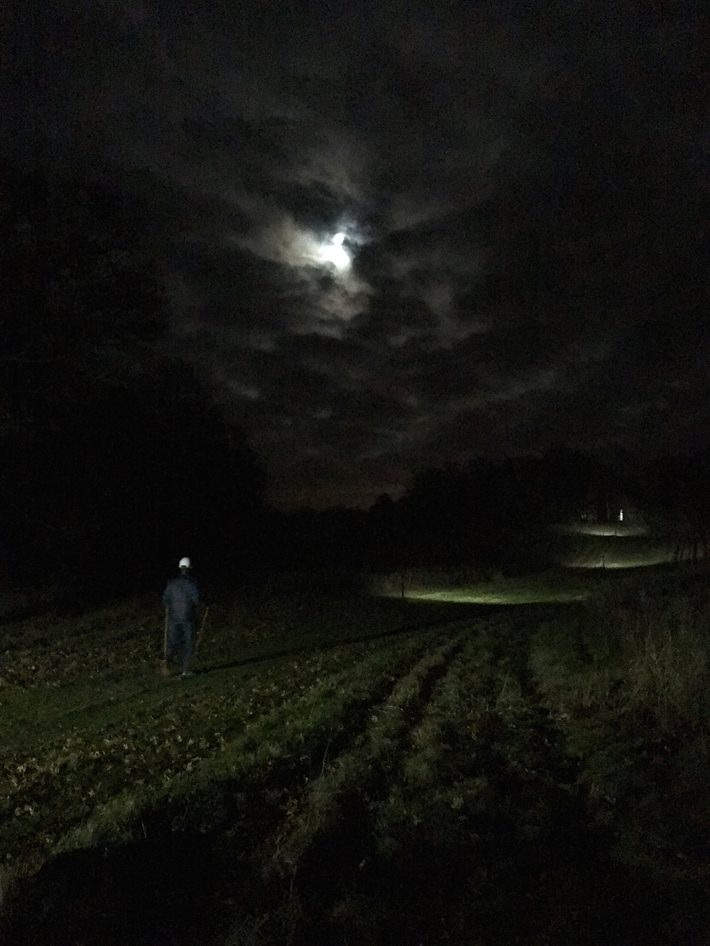 "Hiking under the ""Super Moon"""