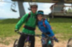 North Star Mountain Bike Guide instructor Byron Adams enjoying trails in Winter Park, Colorado.