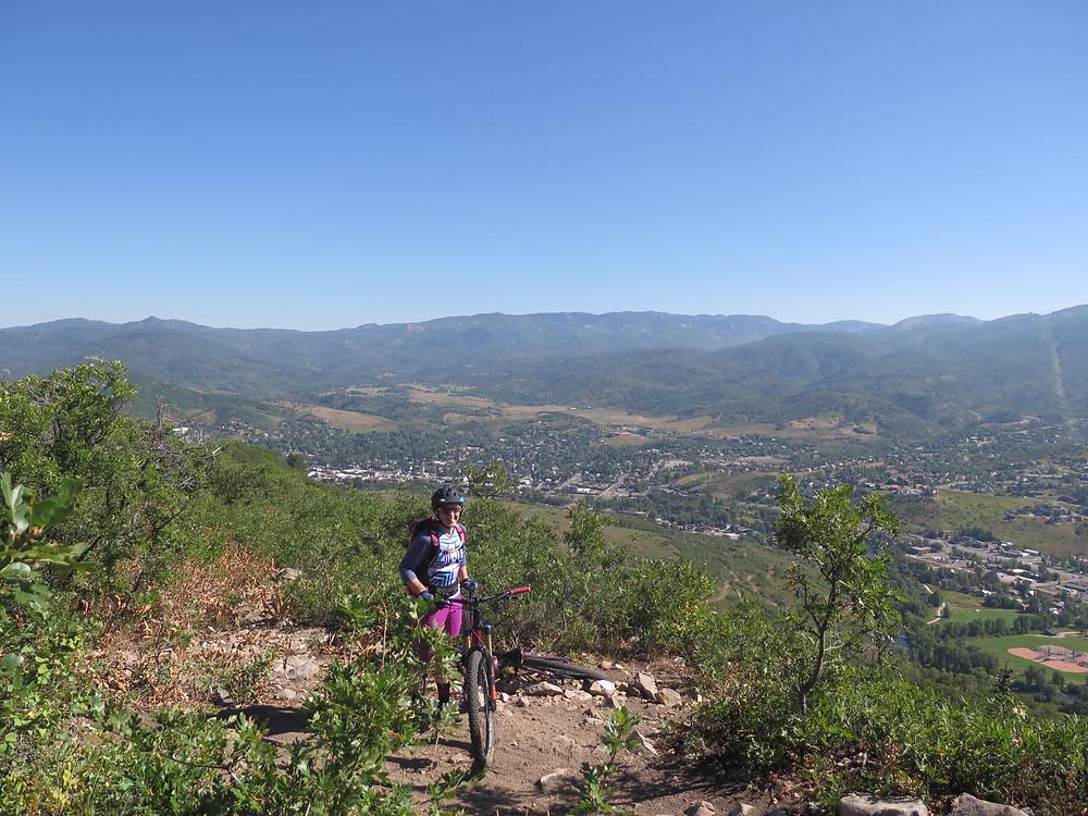 Views atop Emerald Mountain