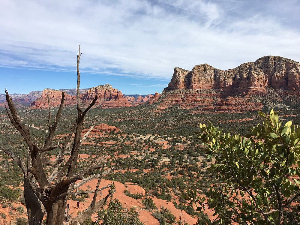 Views abound from Bell Rock