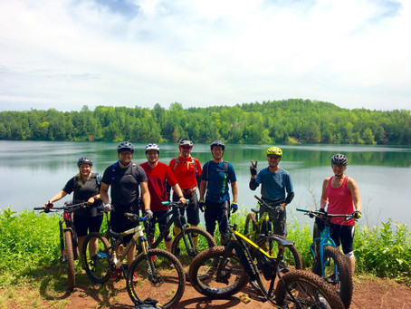 Cuyuna - Shredding the Red & Yoga