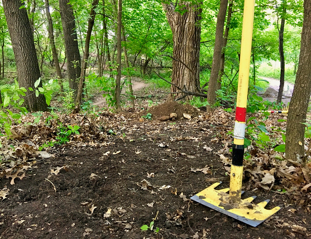 The McLeod is a popular tool for building trails.