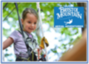 Bristol Mountain Aerial Adventures at Th