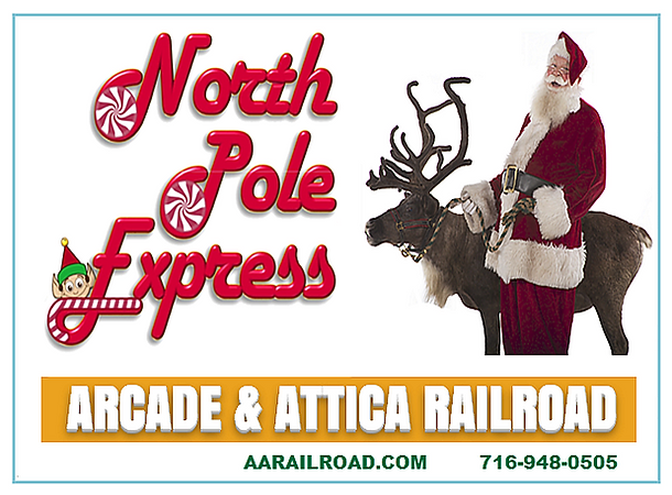 North Pole Express Train Rides Rochester