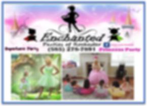 Enchanted Princess Parties at the KidsDa