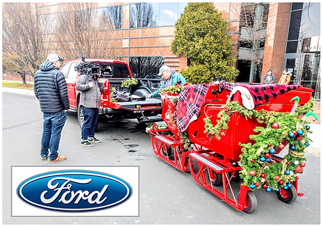 Ford Trucks Commercial with Antique Slei