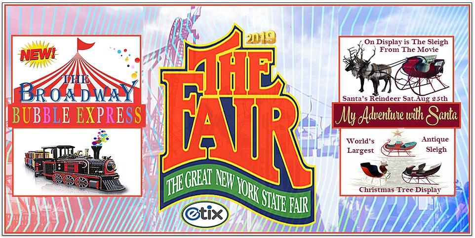 New York State Fair Banner The Parent Ne