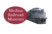 Medina Railroad Museum Image Logo.png