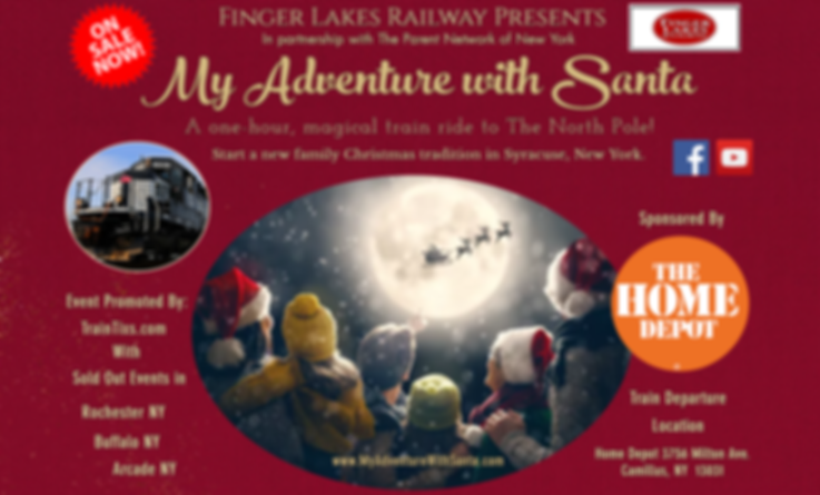 My Adventure With Santa Train Ride Utica