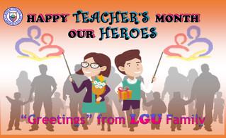 Cervantes celebrates Teacher's Month 2019