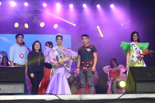 MARY JOY CALAM-ANG: SECOND RUNNER UP ITI SENIORITA FERIA DE CANDON