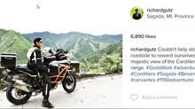 RICHARDGUTIERREZ on his riding adventures.