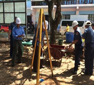 CONSTRUCTION OF CERVANTES PNP STATION