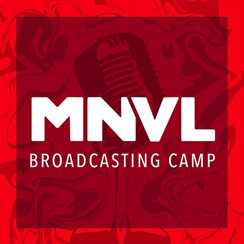 MNVL/Wisdom Gaming Broadcast Camp (Dates 8/9-8/13)
