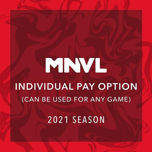 MNVL 2021 Individual Payment Option