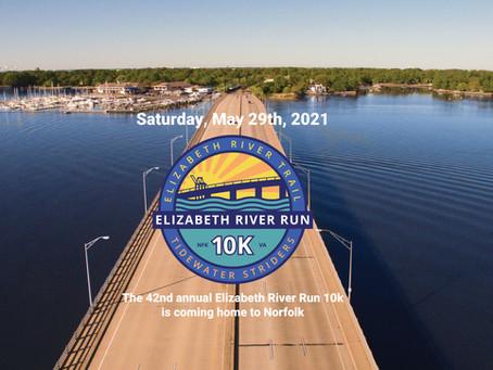 The Elizabeth River Run 10k Returns Home to Norfolk on Memorial Day Weekend