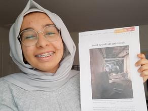 "Local Student Receives ""Take No Prisoners"" Journalism Award"