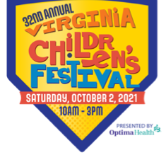 The 32nd Annual Virginia Children's Festival Presented by Optima Health