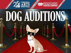 Virginia Arts Festival & NSU Theatre Company want your dog to be featured at the Attucks!