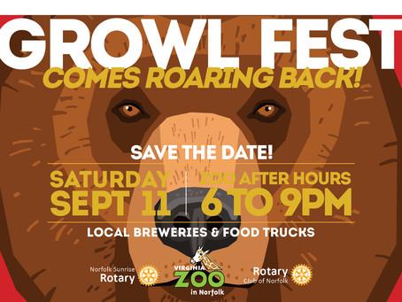Virginia Zoo Growl Fest Comes Roaring Back