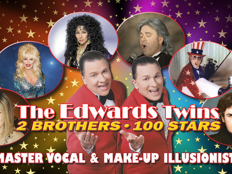 CHER, ELTON, DOLLY, STREISAND Performed By Vegas Edwards Twins