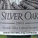 SILVER OAK ALEXANDER VALLEY CABERNET SAUVIGNON 2003