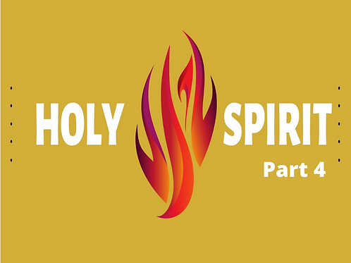 Holy Spirit pt 4 - The Governor is Here