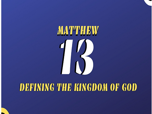 Matthew 13 - The Wheat and the Tares