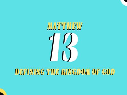 Defining the Kingdom Pt 5