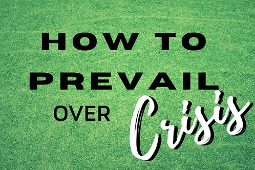 mp3 + e-wbk - How to Prevail Over the Crisis Pt. 1