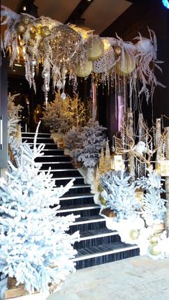 Décoration majestueuse pour un Noël magique