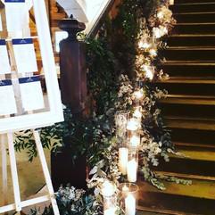 Montée d'escaliers majestueuse