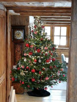 Sapin de Noël traditionnel