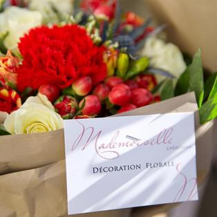 Bouquet Mademoiselle créations