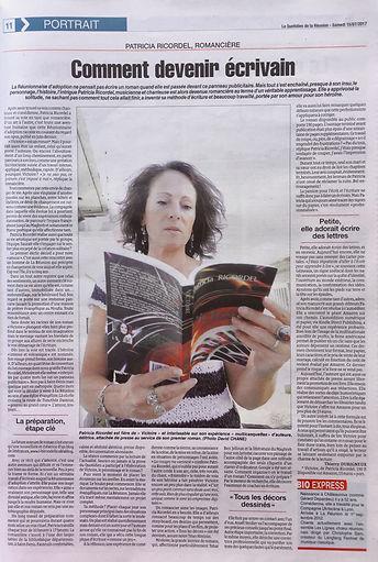 Article du Quotidien de La Réunion