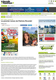 Article web La Nouvelle république du Centre