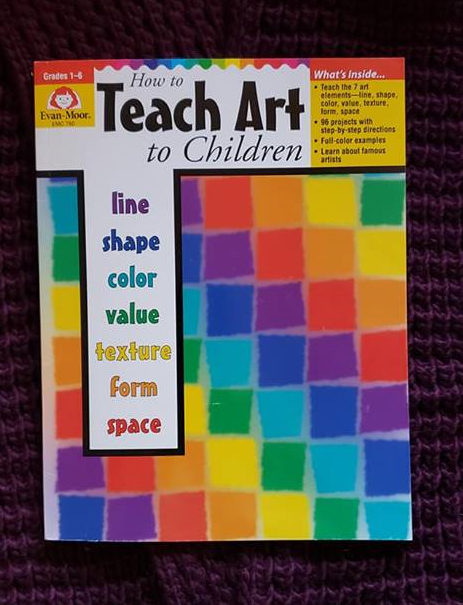 A photo of the book, How to Teach Art to Children Grades 1 - 6