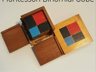 Montessori Binomial Cube: A Visual for Math and Problem-Solving